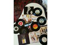 Approx 280 Vinyl Singles - Rock & Pop from 60s/70s/80s