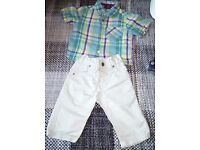 Next 3-6 month boys outfit