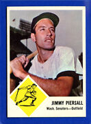 1963 Fleer Baseball Cards