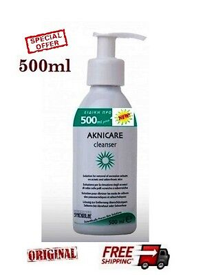 500ml  SYNCHROLINE AKNICARE CLEANSER  - BEST FOR ACNE TREATMENT - SPECIAL