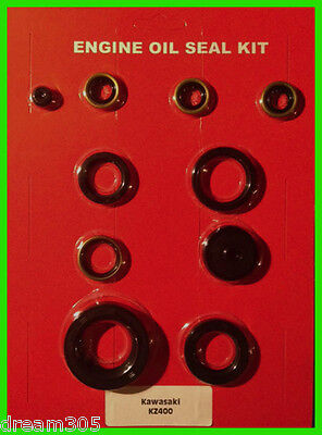 Kawasaki KZ400 Oil Seal Kit 400 Engine 1974 1975 1976 1977 1978 Z400 Motorcycle!