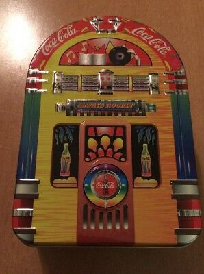 Coca Cola Jukebox Tin