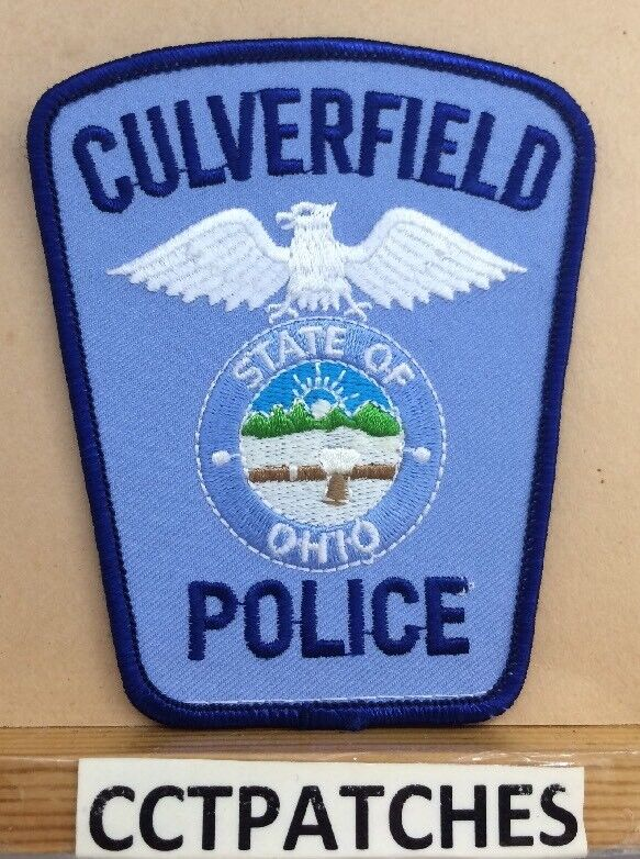CULVERFIELD, OHIO POLICE SHOULDER PATCH OH