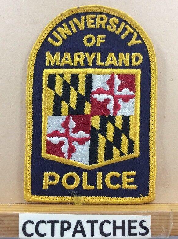 UNIVERSITY OF MARYLAND POLICE SHOULDER PATCH MD