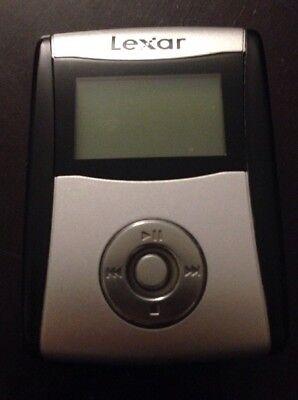Lexar MDA256-100 Personal Portable Handheld 256 MB Digital MP3 Music Player