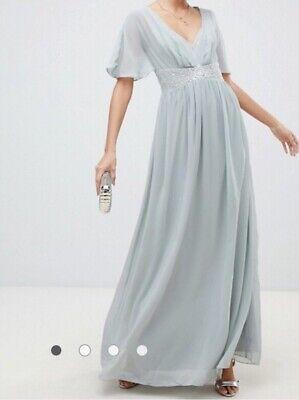 Hardly any Mistress Wunderschönes Maxi Kleid 36 für Boho Braut Hochzeit Gast