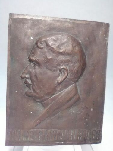 Julien Tappan-Davies, New York Supreme Court Justice bronze plaque