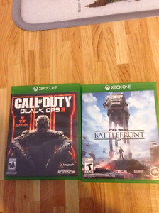 Starwars battlefront and black ops 3