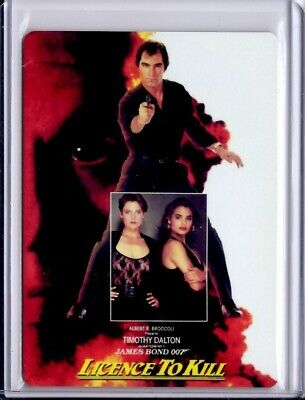 James Bond Archives Final Edition M16 Metal card - Licence to Kill #85/100