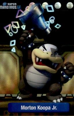 Super Mario Morton Bowser Jr. Dog Tag Trading Card #18