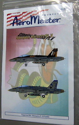 Aeromaster 1/48 48-484 Stinging Hornets Pt.V Decal Sheet