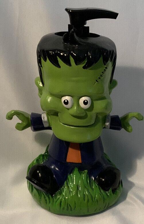 Frankenstein Halloween Funny Bobblehead Holiday Soap Dispenser