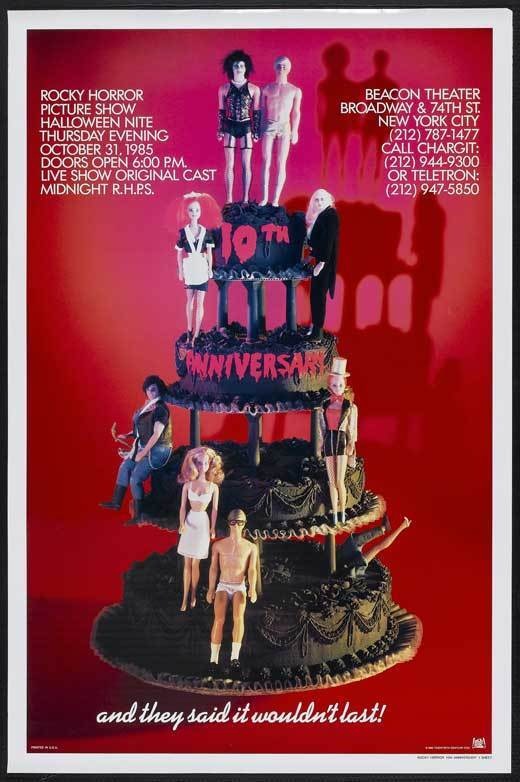 THE ROCKY HORROR PICTURE SHOW (BROADWAY) Movie POSTER 27x40