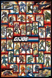 GI JOE POSTER - CHARACTERS - US Animated Version, size 24x36