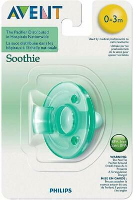 Philips Avent Soothie Pacifier, 0-3 Months, Green - 1 Count
