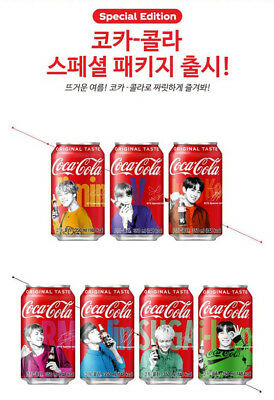 Special Order Bottles -  [Pre-Order] BTS X COCA COLA LIMITED SPECIAL PACKAGE 350ml (ONLY BOTTLE)