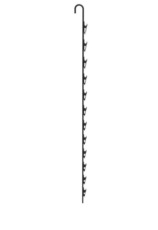 Metal Clip On Strip Chips Hanger Clip Merchandiser Display Rack With Clips