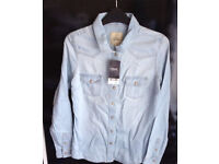 Ladies Denim Shirt NEXT SIZE 6