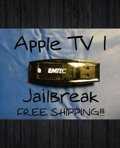 Jailbreak Apple TV 1st Gen 2nd Gen USB Flash Drive XBMC v12.2 Movies, TV, Adult