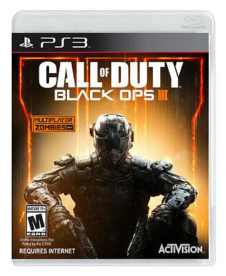 Call of Duty Black Ops III 3 PS3 Feign Brand New Sealed