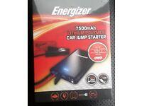 Energizer 7500mAh Lithium-Polymer car jump starter BRAND NEW SEALED