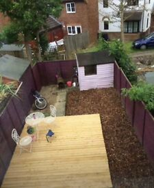 2 Bed House in Emerson Valley, Milton Keynes looking for a three or four bedroom Milton Keynes