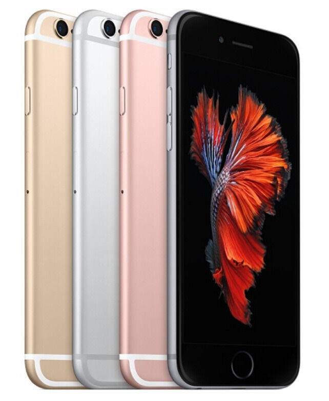 """Apple iPhone 6s - 16GB 64GB 128GB GSM """"Factory Unlocked"""" Smartphone All Colors"""
