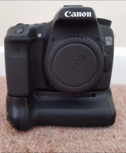 Canon 70d, BG-E14, LP-E6 etc