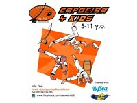 CAPOEIRA Brazilian Martial Art for Kids 5-11 yrs old