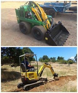 Kanga and Excavator dry hire FREE deliver Mount Helena Mundaring Area Preview
