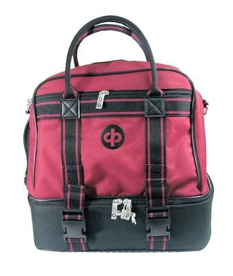 Drakes Pride - Midi Bag Maroon - Lawn / Crown Green Bowls Carry Bag with Strap