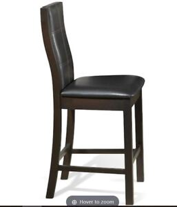 Pub Chairs - Espresso (2 chairs)