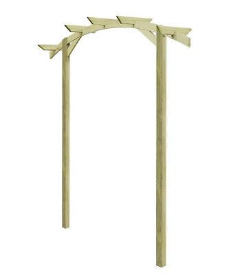 Garden Wooden Pergola Arch Arbour Plants Roses Climbing Support Outdoor Patio
