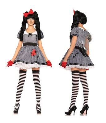Womens Wind Me Up Dolly Halloween Party Costume New Size (Wind Up Kostüm)