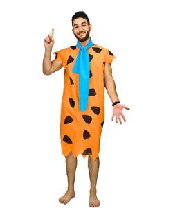 Mens Fred Flintstone Fancy Dress Costume Flintstones Caveman Costume  sc 1 st  eBay & Flintstones Fancy Dress | eBay