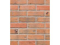BRICK TILES SAHARA Red/Yellow and black flamed colour 710