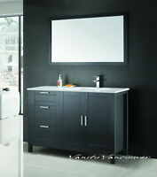 ⎷⎛Contemporary Bathroom Vanity & Cabinet Urban Flare UF48L/R