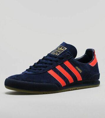 Adidas Jeans blue and orange dublin colours 8 uk 8.5 us BNIB