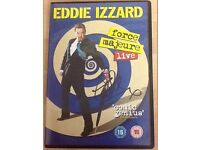 SIGNED EDDIE IZZARD ''FORCE MAJEURE'' DVD