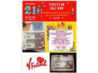 V Festival Saturday tickets