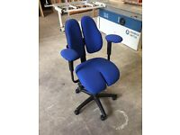 Grahl Duo-Back | Swivel Chair | Specialist Chair | Ego Chair | Extreme Fabric