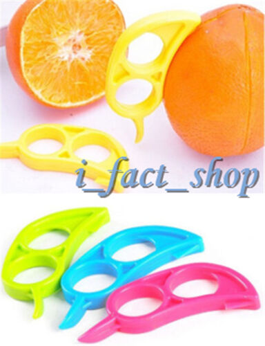 6PCS Lemon Orange Opener Peeler Slicer Cutter Home Convenient Useful Gadgets IFA