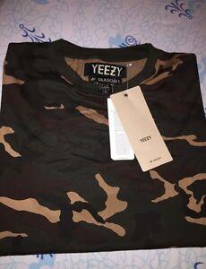 Yeezy Saison 1 Camo Shirt