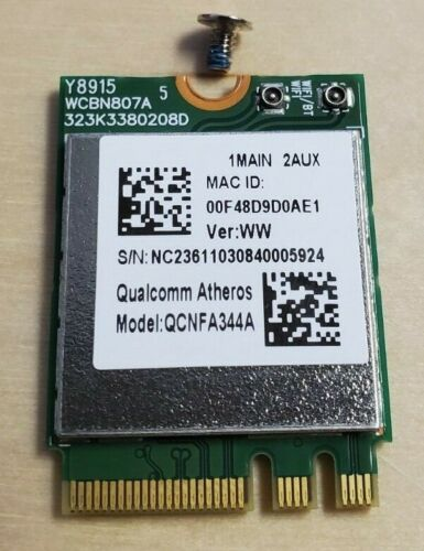 WiFi Wireless Network Card QCNFA344A for Lenovo, Dell, Acer Laptop