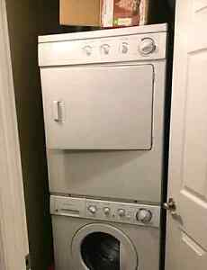 Stackable Frigidaire dryer - works perfect Stackable