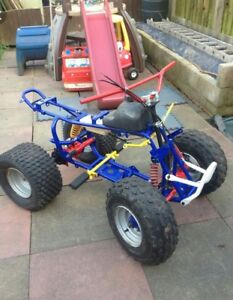 Looking for a 2 wheel drive quad frame