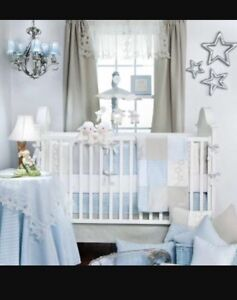 "Glenna Jean ""Twinkle Twinkle"" Crib Bedding Set and Decor"