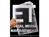 NEED HELP WITH your SOCIAL MEDIA CHANNELS? | ET SOCIAL MEDIA MANAGEMENT 07514925257