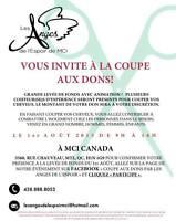 COUPE DE CHEVEUX GRATUITE - DONS À VOTRE DISCRÉTION