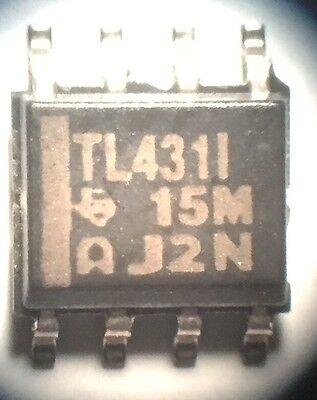 35 Pcs Tl431 I Adjustable Voltage Shunt Soic-8 New Texas Instruments Lm431 U.s.